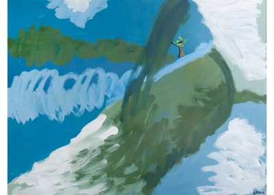 אשליה, 2003, שמן על עץ