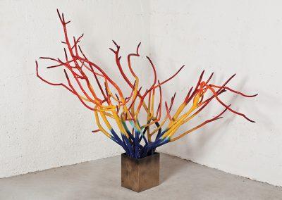 אש, 2011, עץ ומתכת