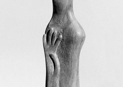 דמות ויד, 1958, עץ טיק