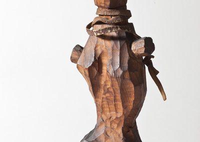 דמות נשית, 1960, עץ אגוז