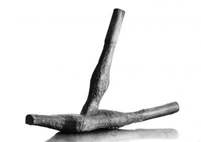 דמות שוכבת, 1965, עץ טיק
