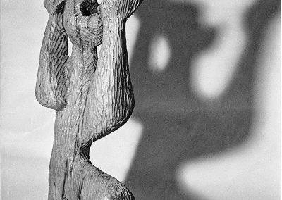 הלוחם, 1953, עץ מהגוני