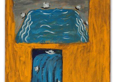 השקייה, 2000, שמן על בד