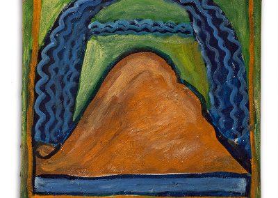 נושאים מימי הביניים, 2000, שמן על בד