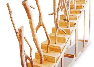 סולם שמימי, 1997, עץ