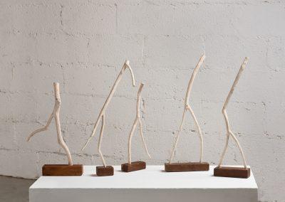 צורות בתנועה, ענפי עץ אלון, 2008