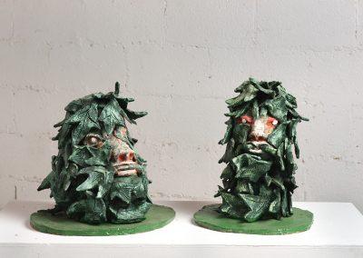 2 דמוני יער, נושאים מימי הביניים, 2005, חומר