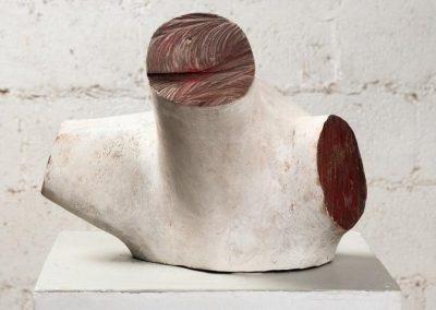 גוף קטוע, 1998, עץ צבוע
